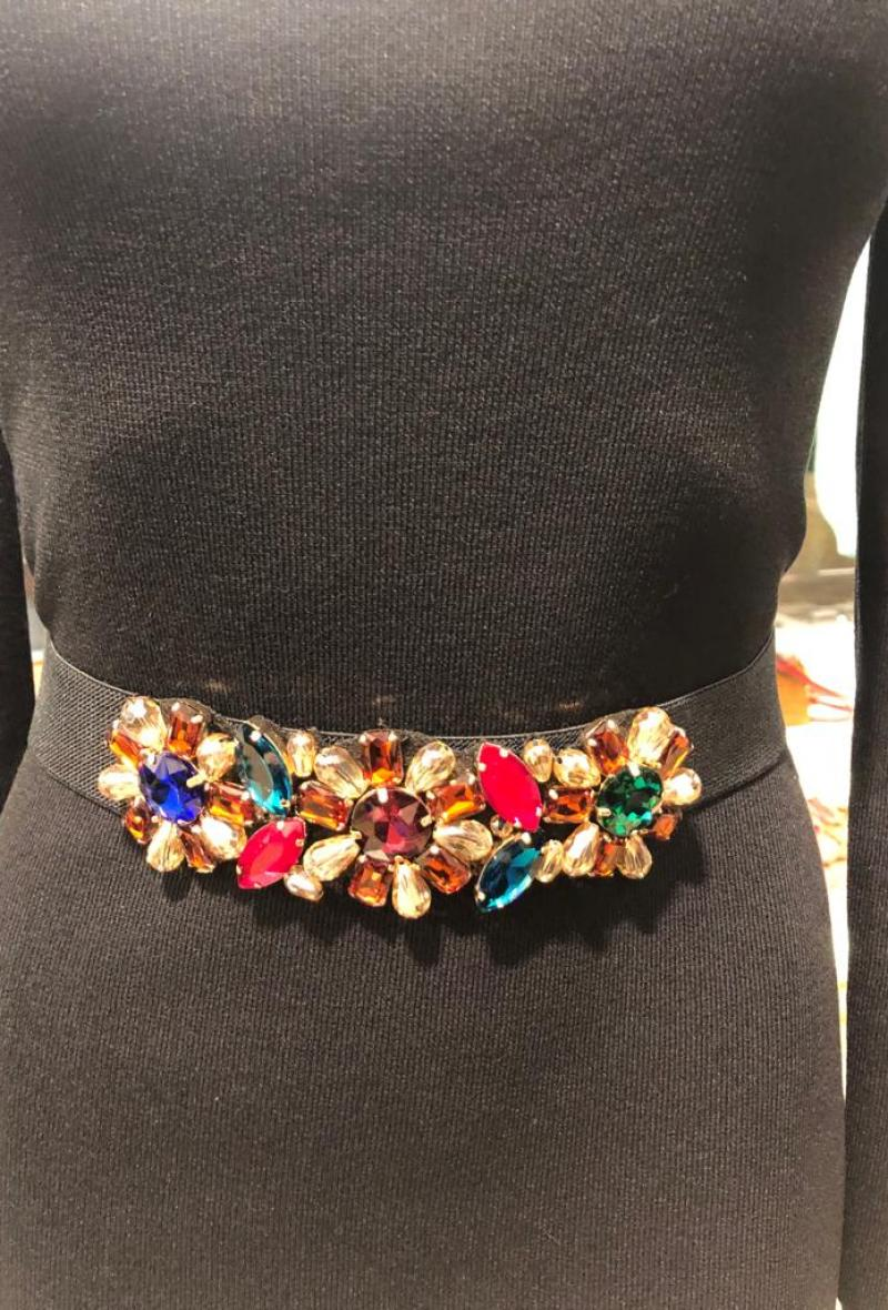 cintura elastica con pietre Multicolor<br />(<strong>Canonica 63</strong>)