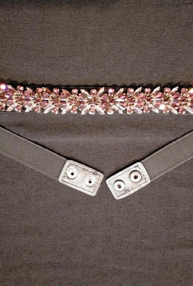 cintura elastica con pietre Bronzo<br />(<strong>Canonica 63</strong>)