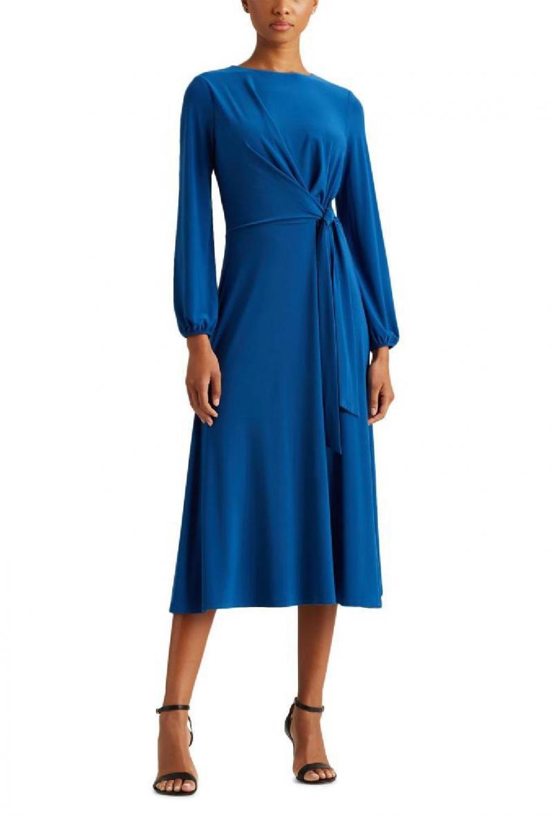 Abito Lauren Ralph Lauren modello kerrari long color ceruleo Azzurro