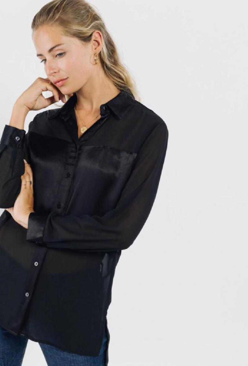 Camicia velata