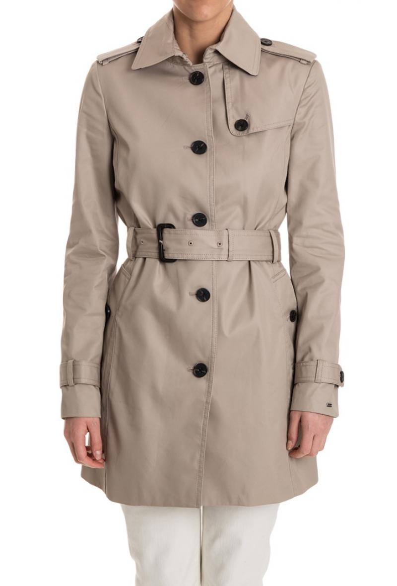 Trench monopetto Tommy Hilfiger Medium taupe