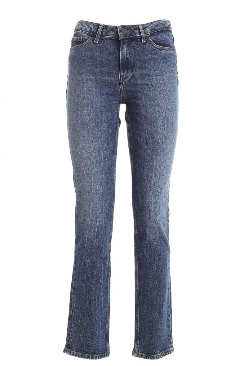 Jeans gamba dritta tommy hilfiger Blu chiaro
