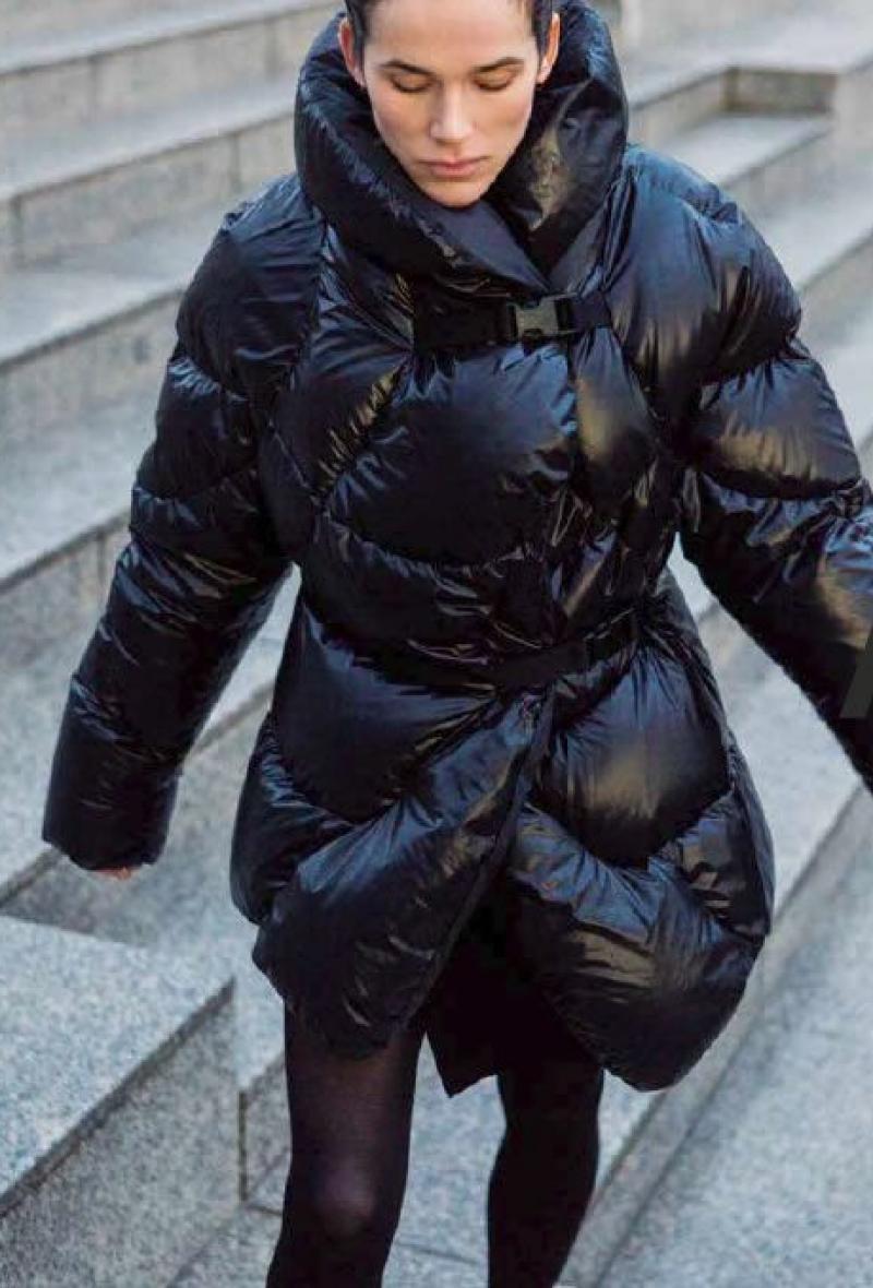Giaccone nero Ahirain Black<br />(<strong>Ahirain</strong>)
