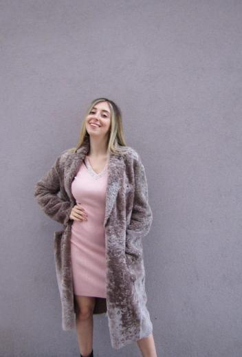 Montone in shearling naturale &#34LIVEN&#34