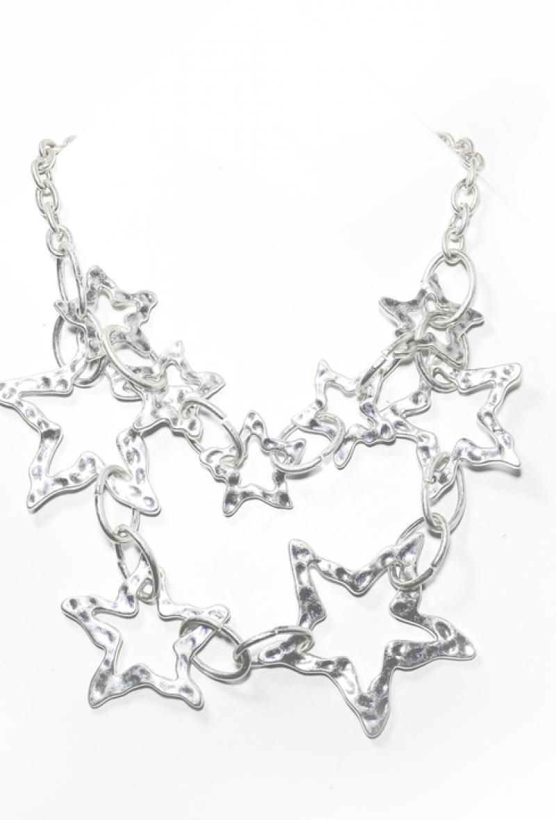 Collana con anelli e stelle Argento<br />(<strong>Canonica 63</strong>)