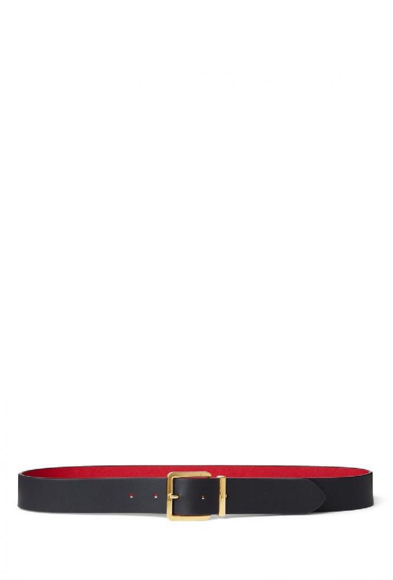 Cintura reversibile Rosso/blu<br />(<strong>Lauren ralph lauren</strong>)
