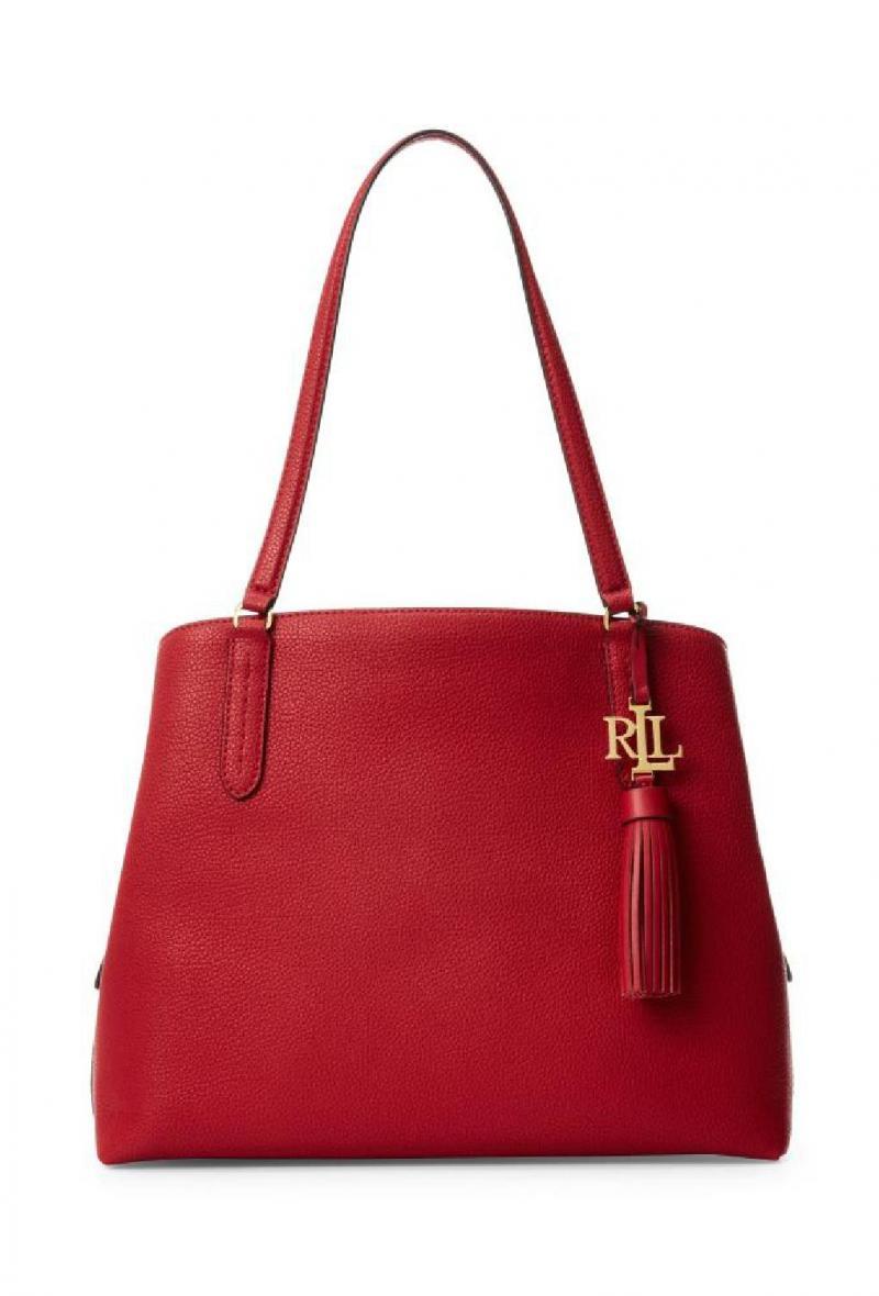 Borsa modello Quinn 34 Rossa<br />(<strong>Lauren ralph lauren</strong>)