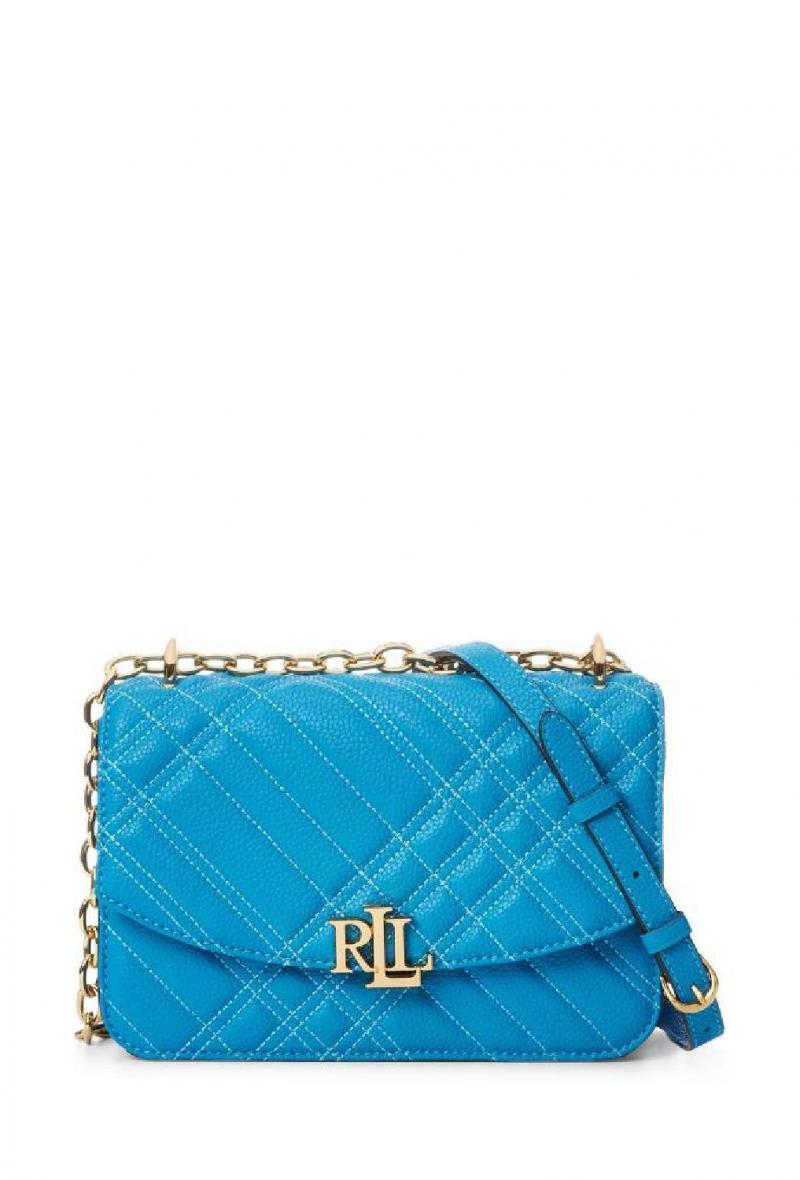 Borsa modello madison 22 Azzurra<br />(<strong>Lauren ralph lauren</strong>)