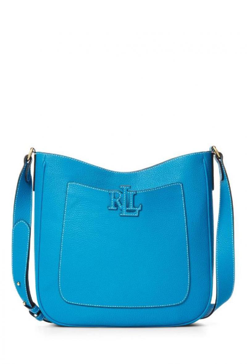 Borsa modello cameryn 29 Azzurra<br />(<strong>Lauren ralph lauren</strong>)