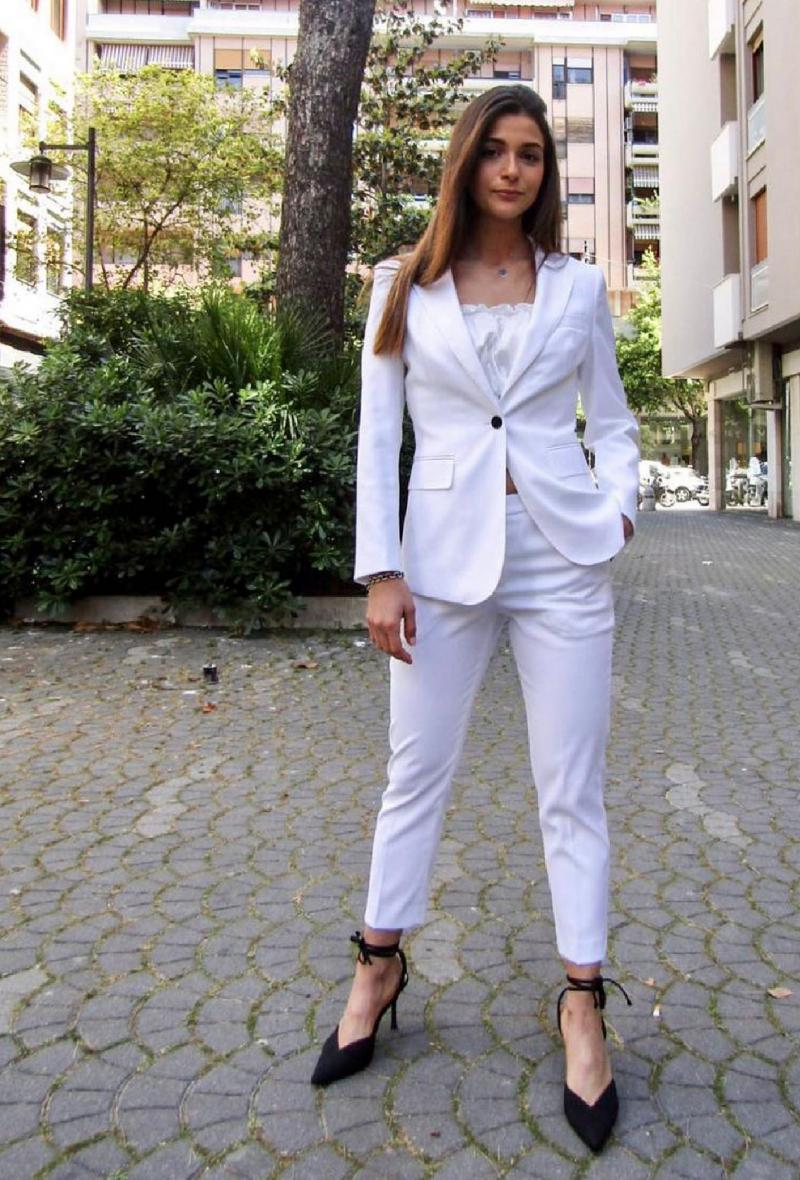 Tailleur pantalone Bianco<br />(<strong>Interdee</strong>)