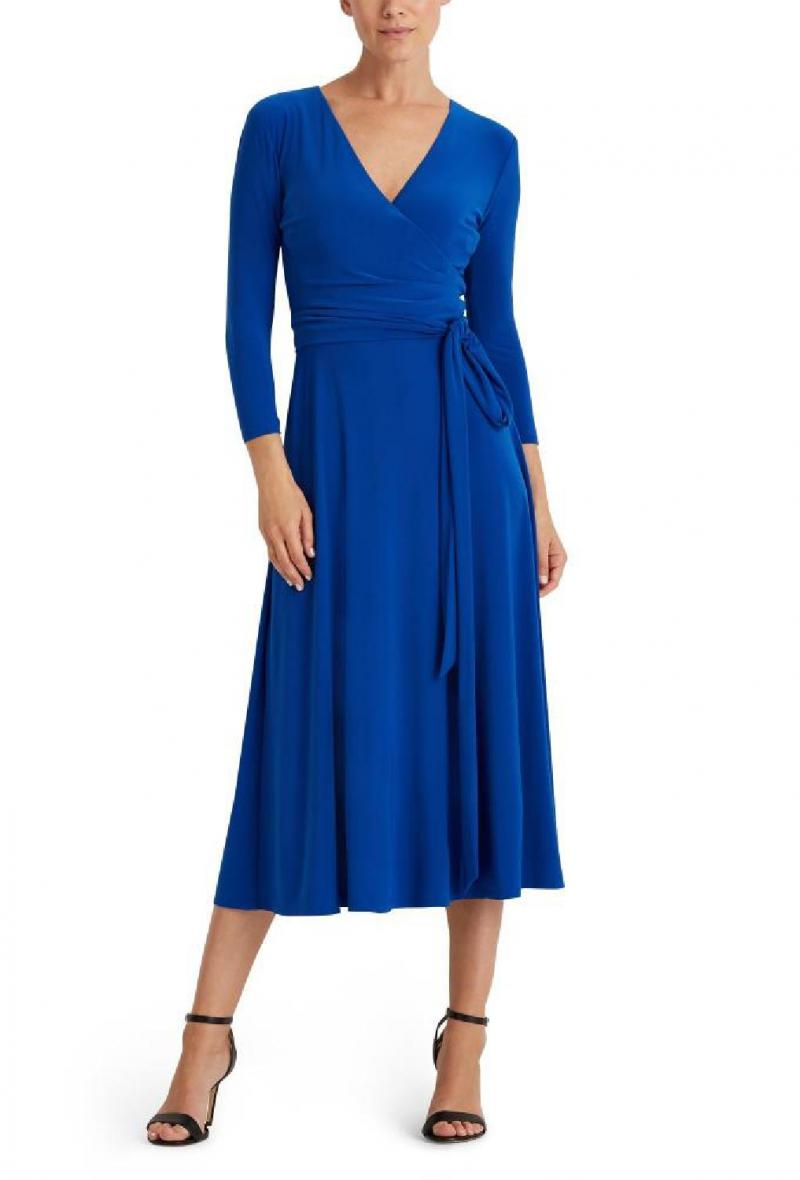 carlyna-3/4 sleeve-day dress