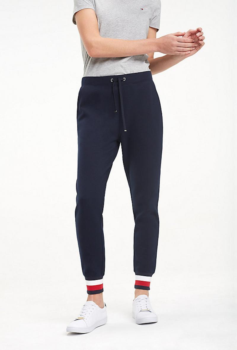 pantaloni felpa tommy hilfiger Blu<br />(<strong>Tommy hilfiger</strong>)