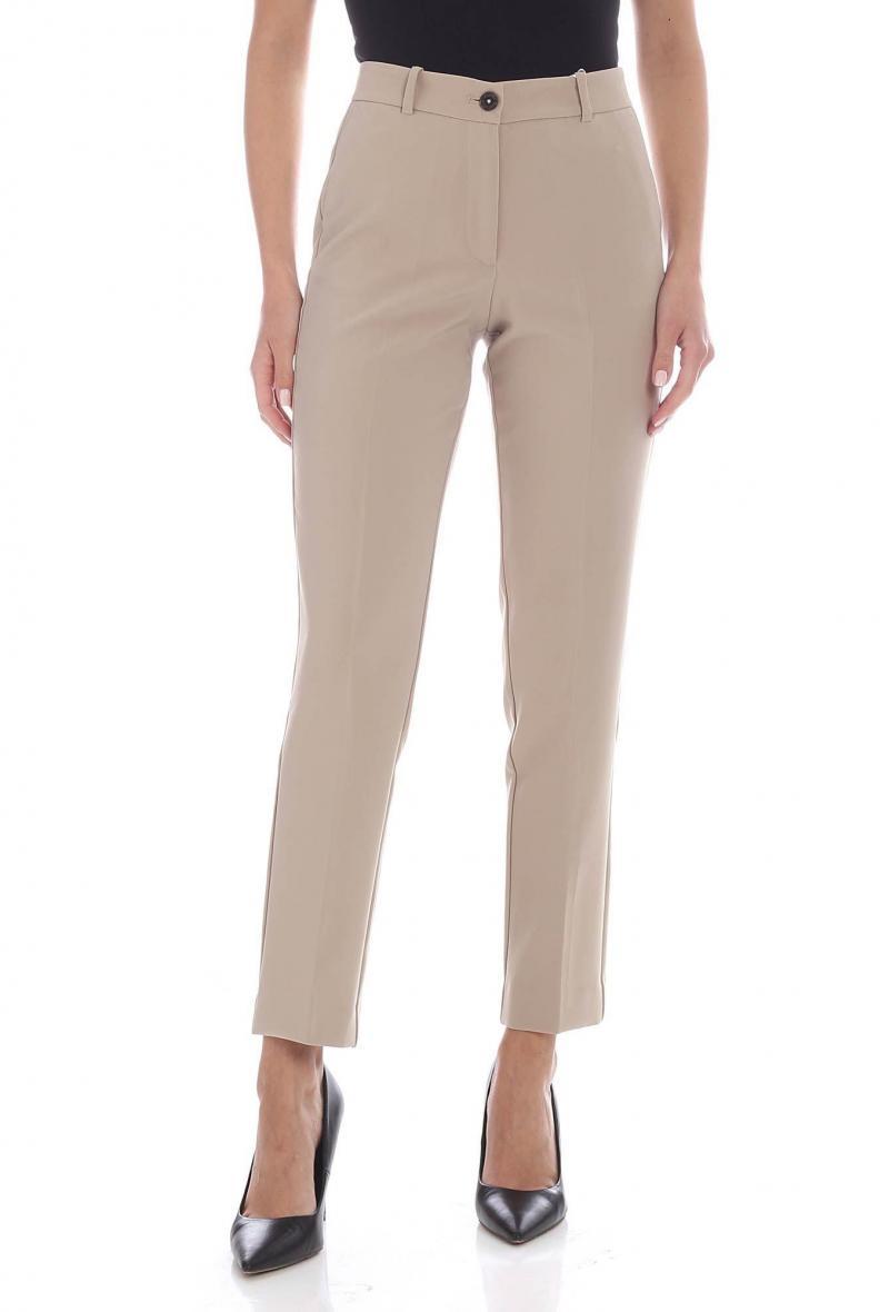 Pantaloni in tessuto tecnico Beige