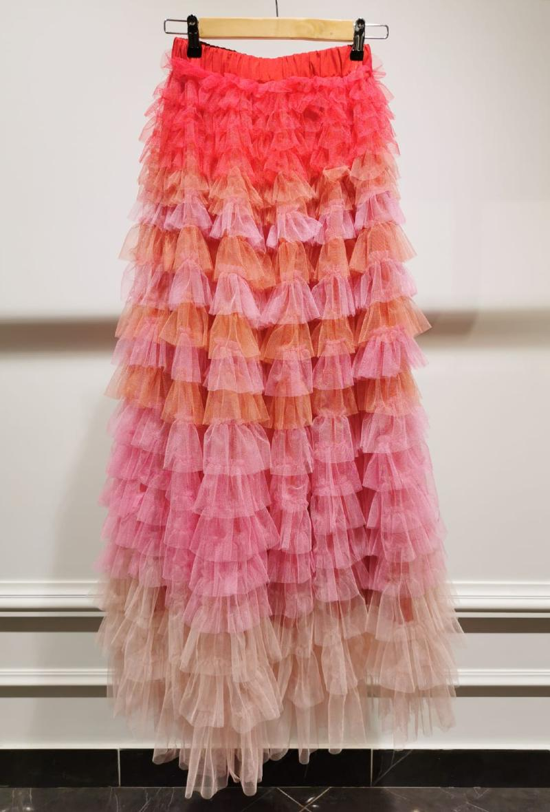 Gonna multicolor in tulle Multicolor<br />(<strong>Choklate</strong>)
