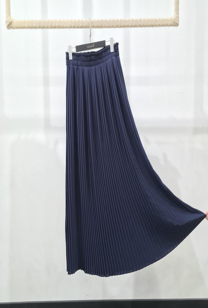 Gonna lunga plissettata Blu<br />(<strong>Jowell</strong>)