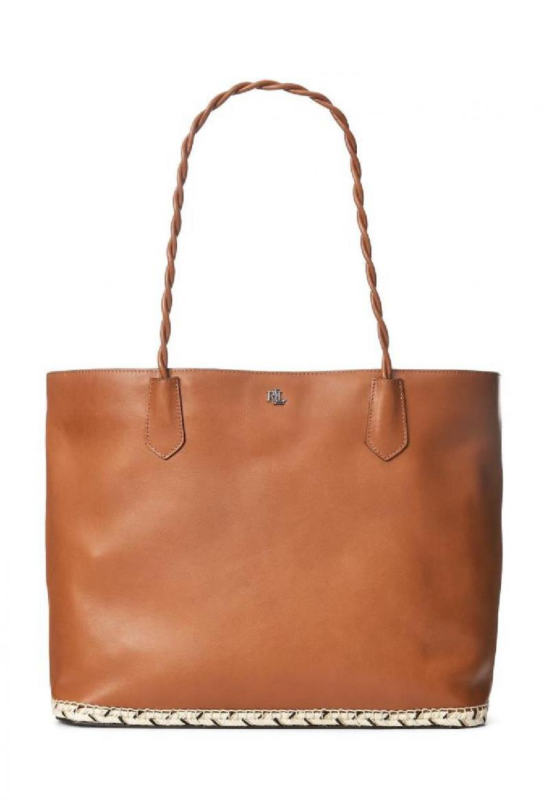 Shopping in pelle L. Ralph Lauren Cuoio<br />(<strong>Lauren ralph lauren</strong>)