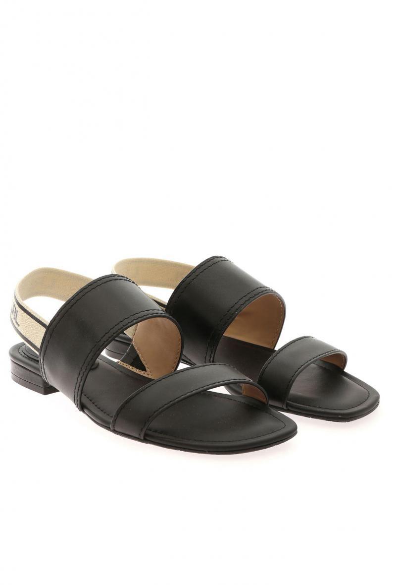 karter sandals casual Nero<br />(<strong>Lauren ralph lauren</strong>)