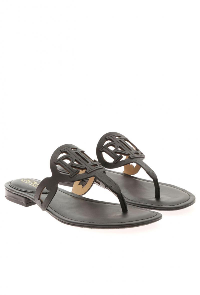 audrie sandals casual Nero<br />(<strong>Lauren ralph lauren</strong>)