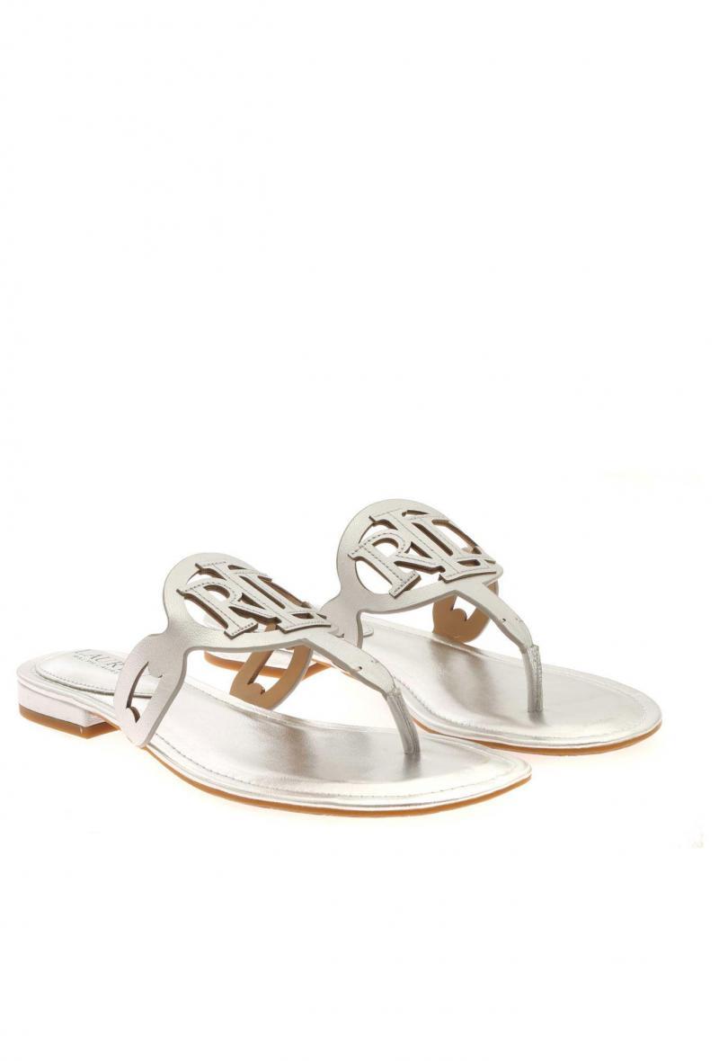 audrie sandals casual Argento<br />(<strong>Lauren ralph lauren</strong>)