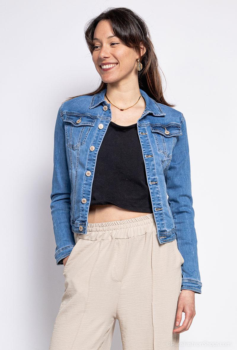 Giubbino jeans Jeans<br />(<strong>Lily mcbee</strong>)
