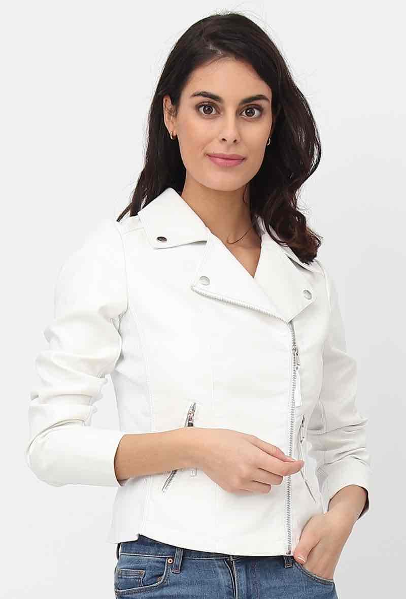 Biker jacket Bianco<br />(<strong>Softy</strong>)