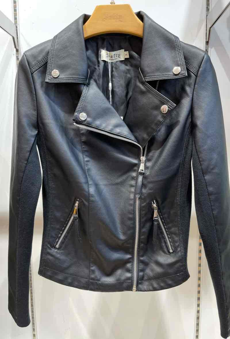 Biker jacket Nero<br />(<strong>Softy</strong>)