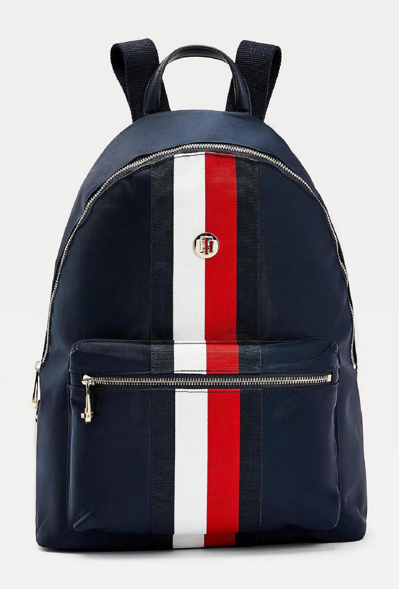 Zaino iconico in nylon riciclato Blu<br />(<strong>Tommy hilfiger</strong>)