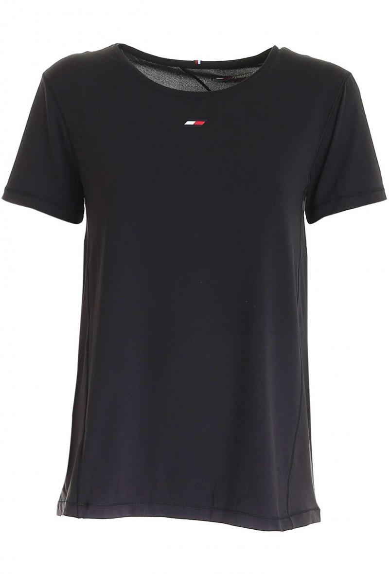 t-shirt sport antiumidità Nero<br />(<strong>Tommy hilfiger</strong>)
