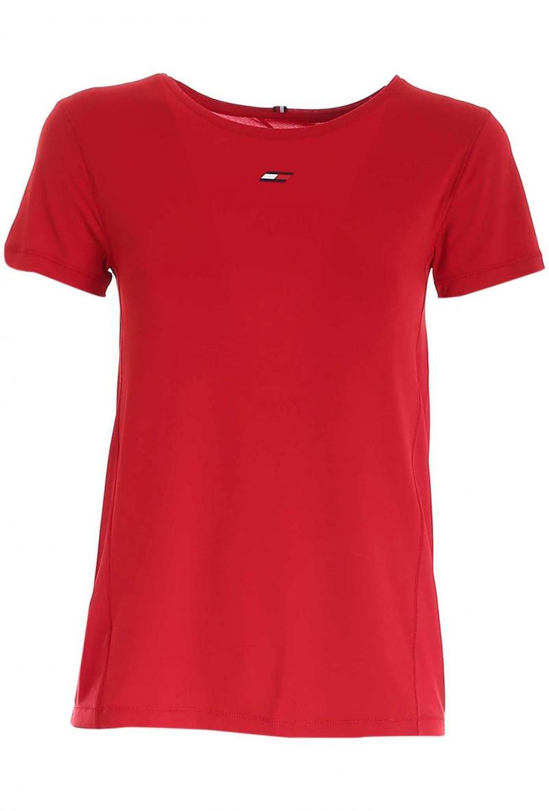 t-shirt sport antiumidità Rosso<br />(<strong>Tommy hilfiger</strong>)