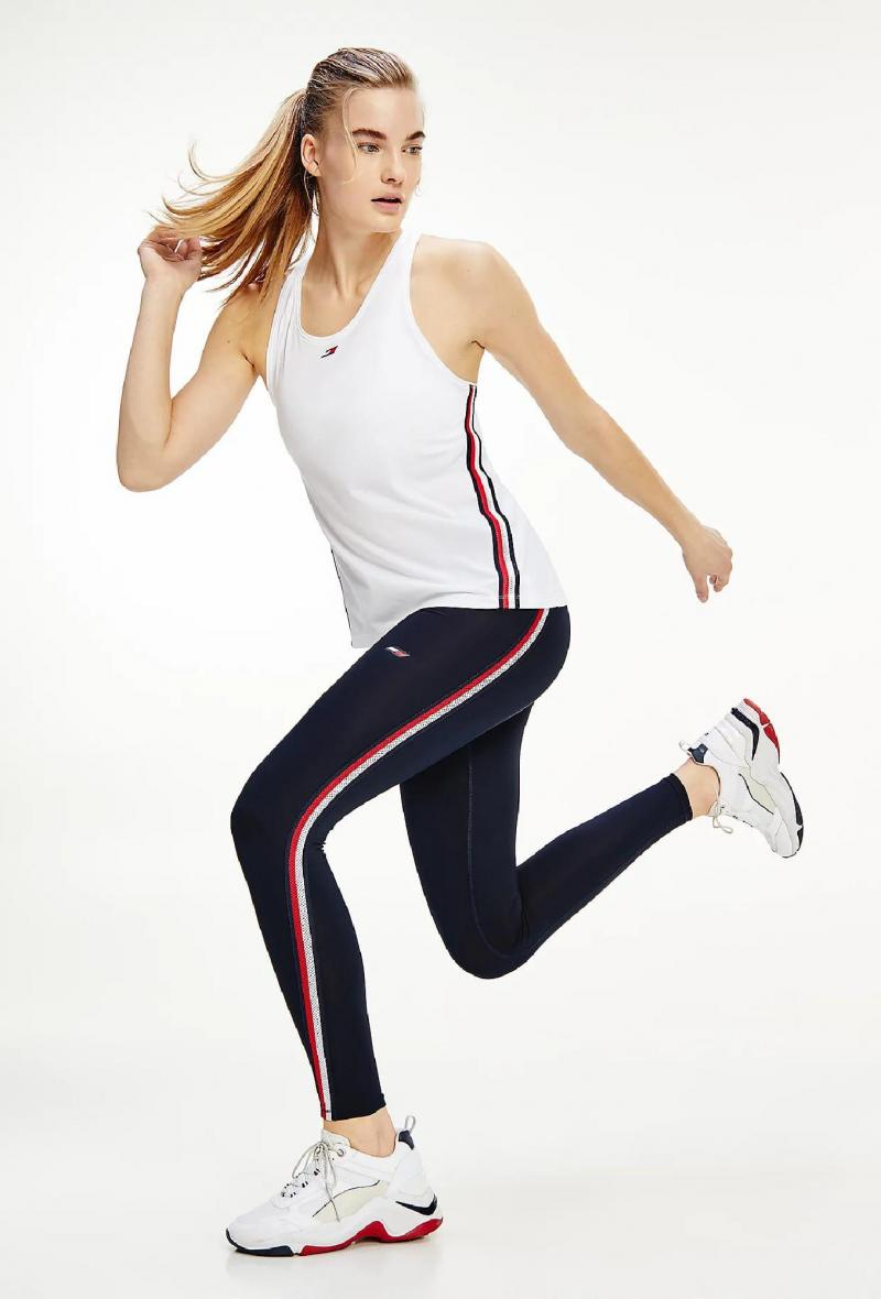 Leggings sport skinny Blu<br />(<strong>Tommy hilfiger</strong>)