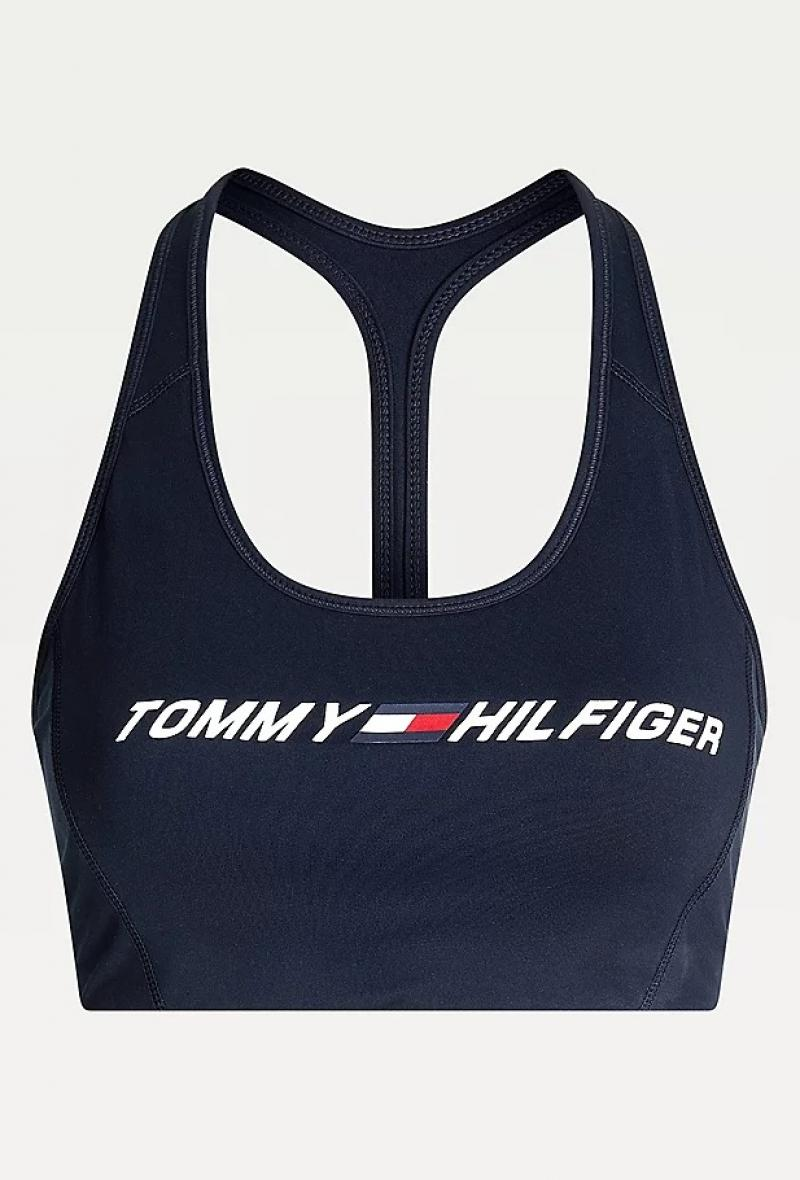 Top sportivo con logo Blu<br />(<strong>Tommy hilfiger</strong>)