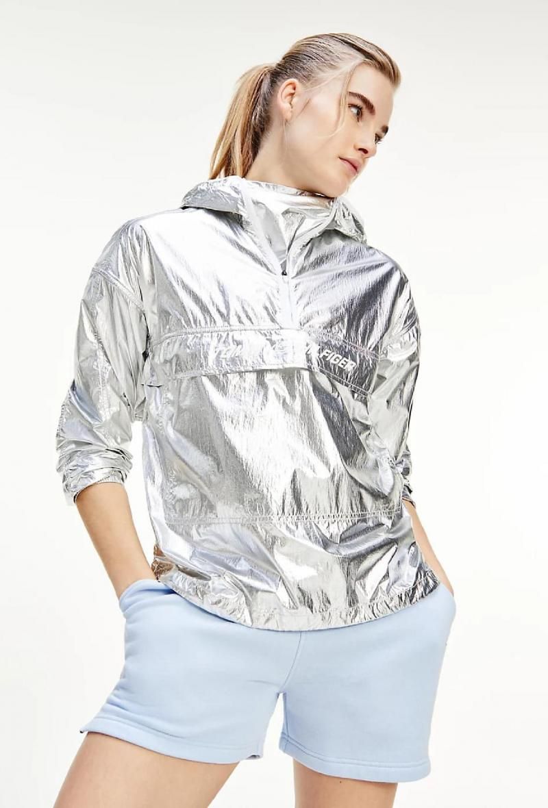 Giacca sport idrorepellente Argento<br />(<strong>Tommy hilfiger</strong>)