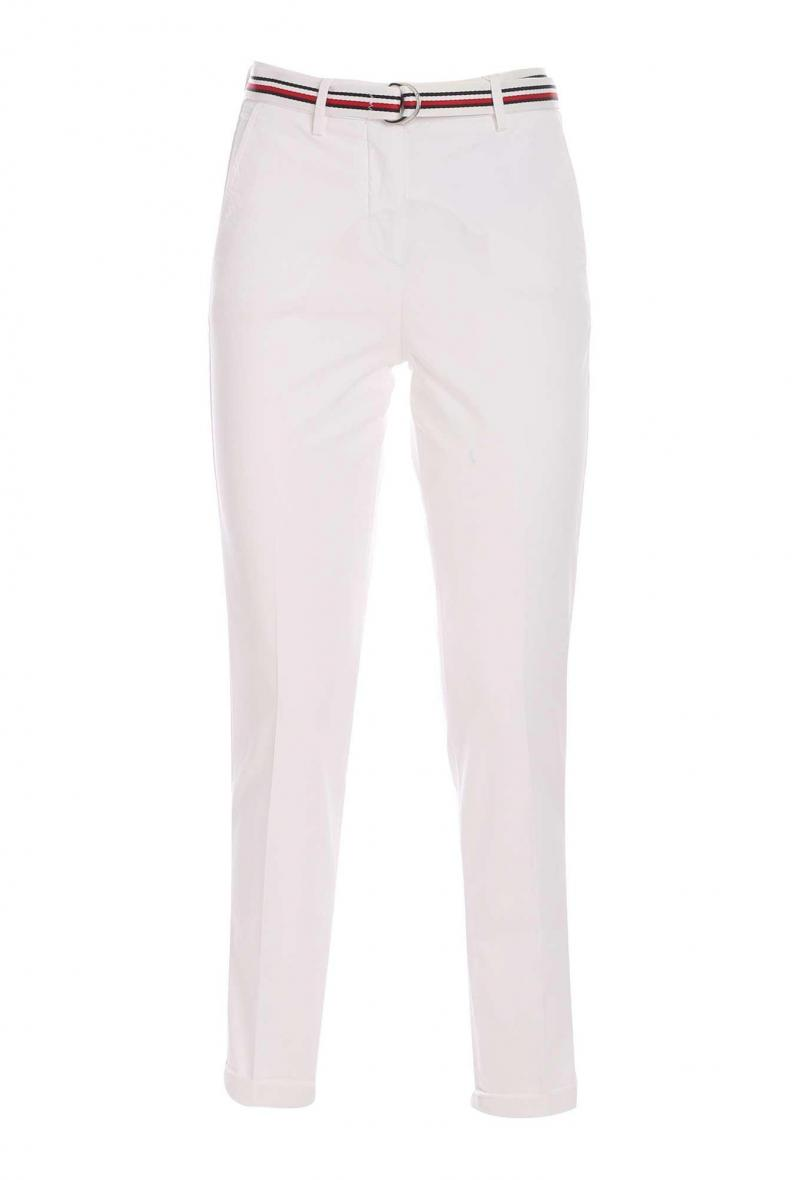 co tencel slim pant Bianco<br />(<strong>Tommy hilfiger</strong>)
