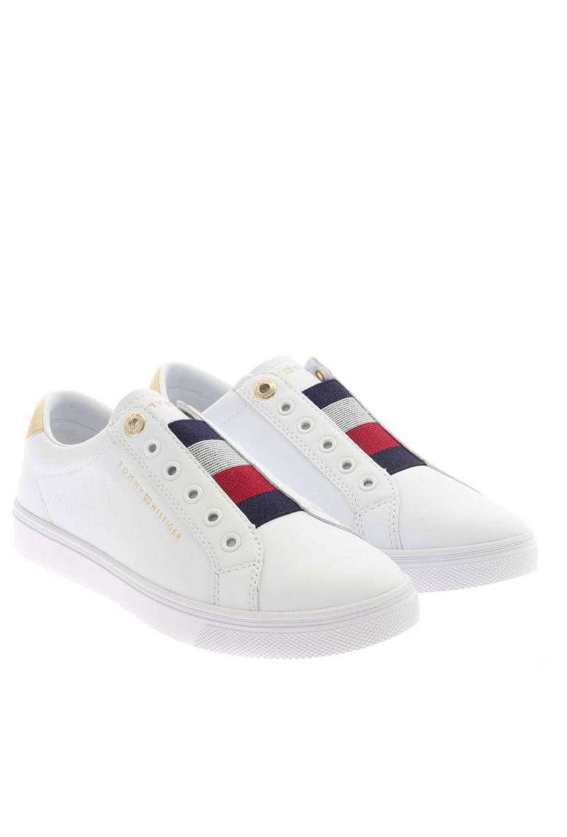 Sneakers iconiche senza lacci Bianco<br />(<strong>Tommy hilfiger</strong>)