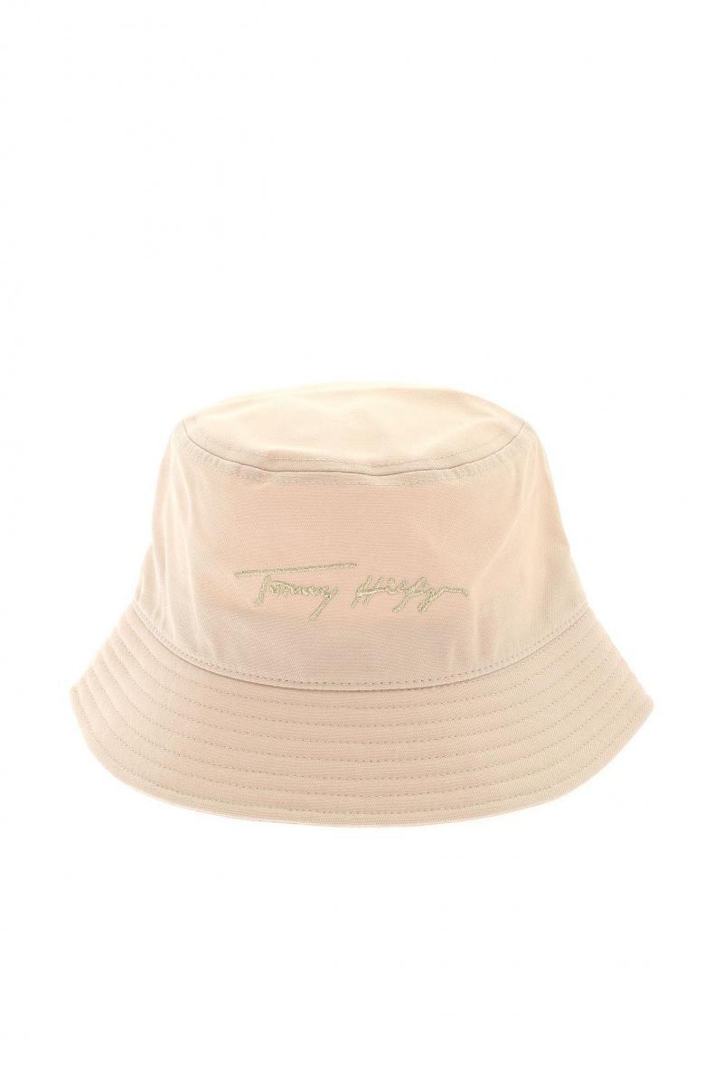 signature bucket hat Avorio