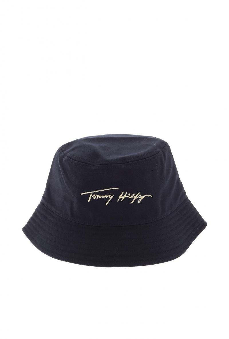 signature bucket hat Blu<br />(<strong>Tommy hilfiger</strong>)